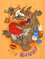 Totoro Adventures by Garvals
