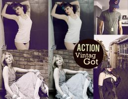 Action. VintagGot. by Ihavethedreamersdise