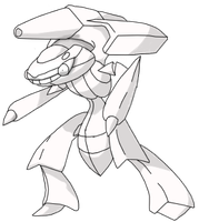 Genesect Free Base by AbbyRoadRoute66