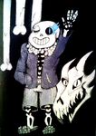 Sans by snugglepoo