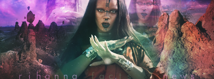 Rihanna Facts News Facebook Cover - Sledgehammer by FurkanYldrm