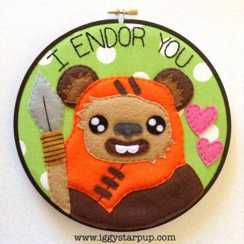 Ewok I Endor You by iggystarpup