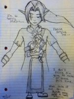 Link's Goodbye by TheGeekyBookworm
