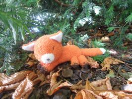 (FREE TUTORIAL) Fox Sock Plushie by judithchen