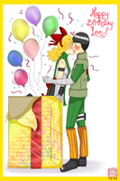 HAPPY BIRTHDAY LEE!!!!!~ 2012 by Creativegreenbeans