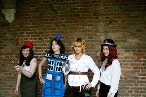 Dr.Who Halloween 2011 by missy2laina