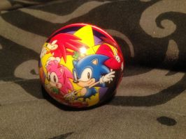 Sonic The Hedgehog stress ball by PMS by DarkGamer2011