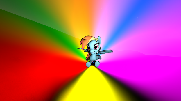 Let the rainbow touch you by BookerDawatt