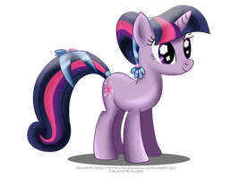Crystal Twilight Sparkle by FluttershyPony4444