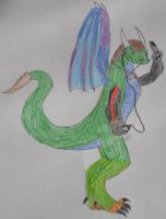 Me in My Dragon Form! by RSDfan1134