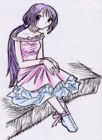 Waiting for the colored pencil by stellachan