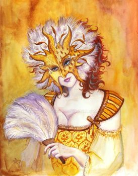 Solar Masque by felixxkatt