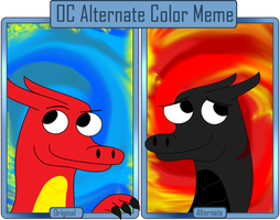 Alternate Color Meme by M41Aconner