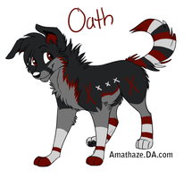 :BO:Oath: by NightmareAdoptables