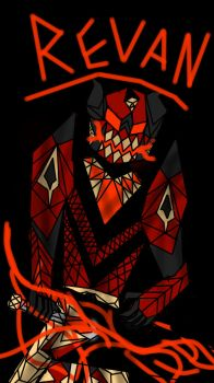Revan, The Eighth Great Arch-Demon by Firestormthedragolf