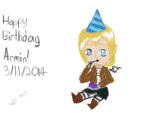 Armin Birthday Picture by wolfdrawer455567