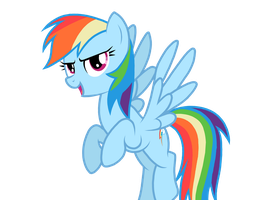 Rainbow Dash Vector by Bird-Spirit