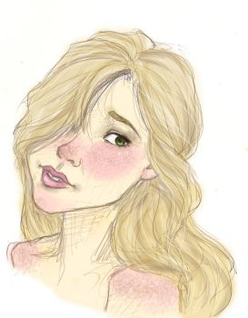 realistic rapunzel... sort of by mox-ie