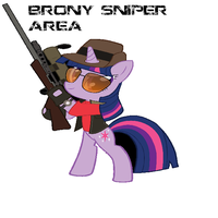 Brony Sniper by MLP-Team-fortress-2