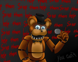 FrEdDy by darkspine--pony