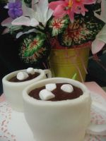 Coffee Cup Cupcakes by zamor438