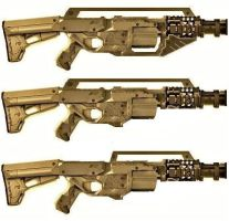 M192 Long Range Grenade Rifle Concepts by LandgraveCustoms