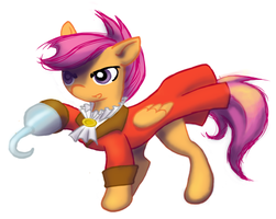 Scootapirate by YsaNoire