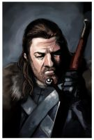 Ned Stark by fifoux