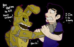 Five Nights at Freddy's - Face to Face by itsaaudra