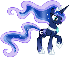 Rainbow Power Luna by NightmareLunaFan