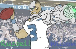 Russell Wilson (Cyborg) by ConcreteChief