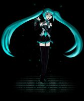 Miku - Forgotten by Nin-Wolf