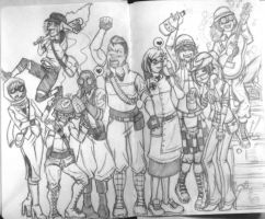Team Fortress 2 Gender Swap WIP by Altros55