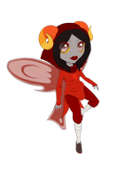 HS Beta God Tier: Aradia [Cel] by SanchaySquirrel