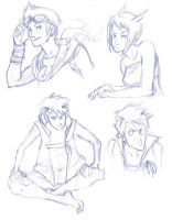 char sketches by doven