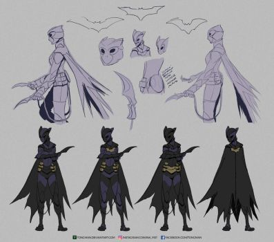 Black Bat Concept by Tongman