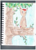 Owl in a Tree by SpassyWolf