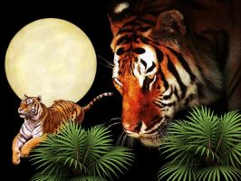 Tiger Moon by SexySamantha