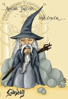 Speak, friend, and enter....(Gandalf) by Narya91