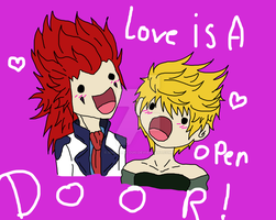 Love Is A Open Door !!! by OUO-AlEx-OUO