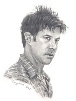 Joe Flanigan in Burbank by crysothemis