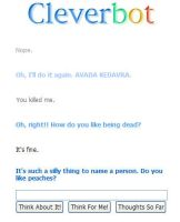 Cleverbot is drunk Voldemort by Xandraeia