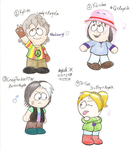 Colored Lovekids Batch 1 by Dreamy-Optimist
