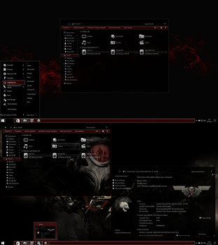 The Red Theme for Windows 10 RS 2 Update by gsw953onDA
