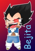 Evil Vegeta SD color by Vejit