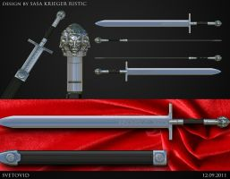 Svetovid sword by Kriegerman