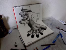 Originals for sale - 3D Drawing - Dealing by NAGAIHIDEYUKI
