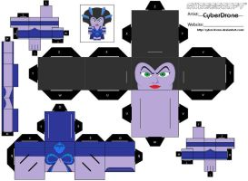 Cubee - Evil-Lyn Ver2 '1of2' by CyberDrone