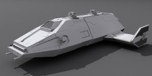 Star Wars Imperial Carrier 3D wip by AdamKop