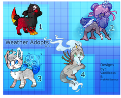 :Weather Designs Up for Auction(closed): by PrePAWSterous